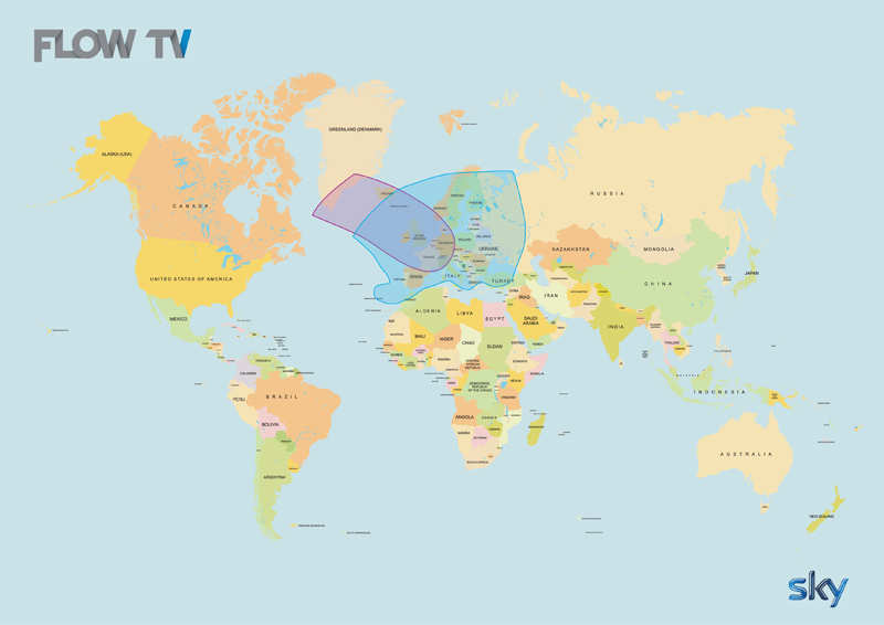 Flow TV Coverage Map
