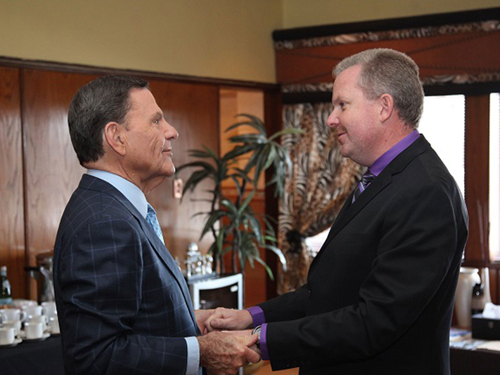 Kenneth Copeland with Ps Andre Roebert