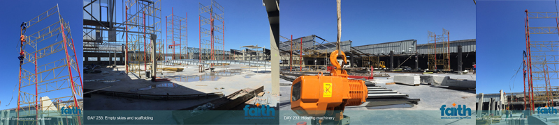 Studio Roof Project Updates